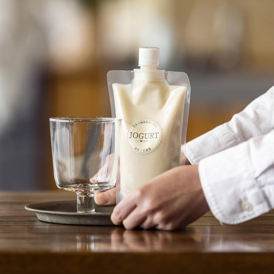 コラーゲン を作りだすα-EGが含まれている酒粕を気軽に摂取できる商品「JOGURT」